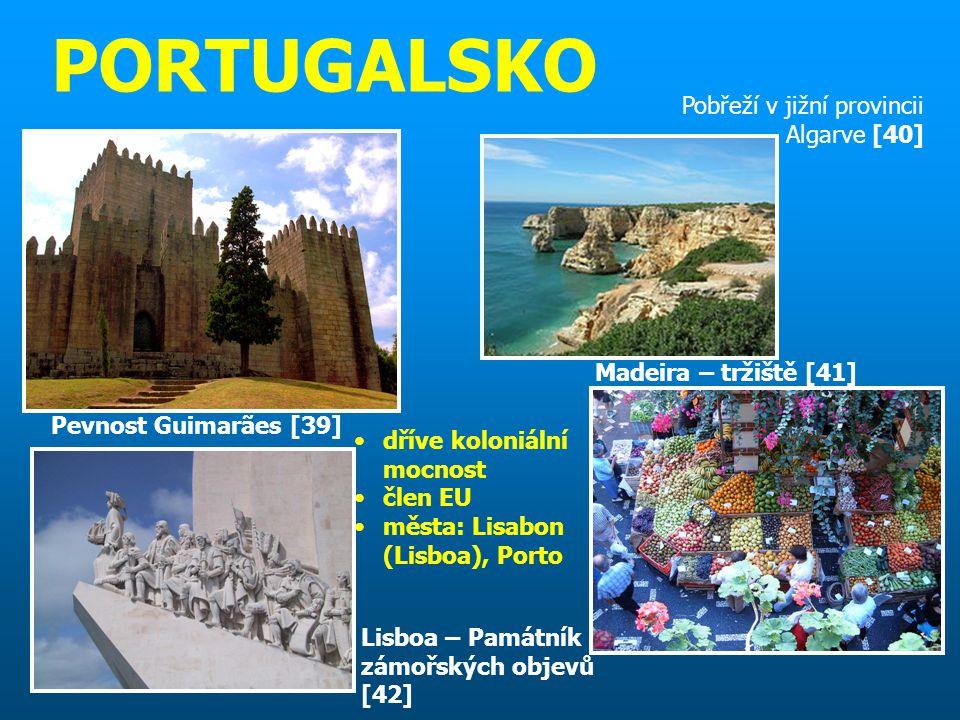 PORTUGALSKO Pobřeží v jižní provincii Algarve [40]